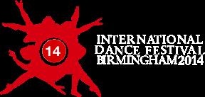 International Dance Festival Birmingham 2014 Logo